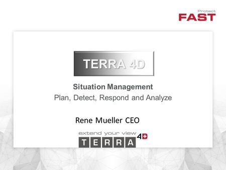 Situation Management Plan, Detect, Respond and Analyze