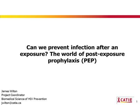 Can we prevent infection after an exposure