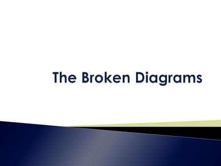  When we look at the world, we see broken relationships everywhere.  Where have you seen broken relationships?