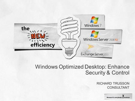 Windows Optimized Desktop: Enhance Security & Control.