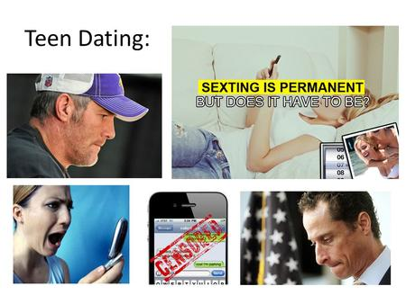 Teen Dating:.