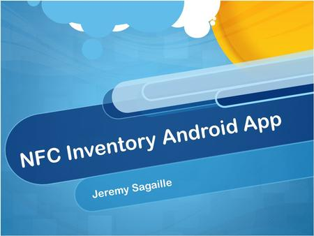 NFC Inventory Android App