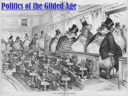 Politics of the Gilded Age. Political Machines A Political Machine was designed to take advantage of the spoils system A Political Machine was designed.
