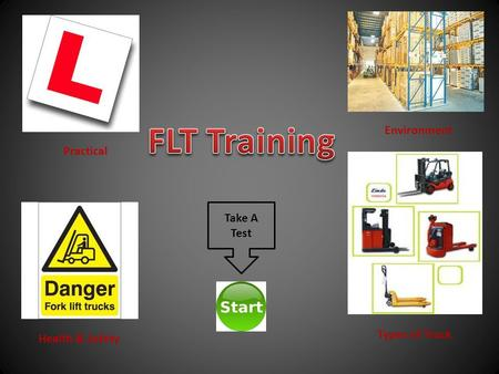 Health & Safety Environment Types of Truck Practical Take A Test.