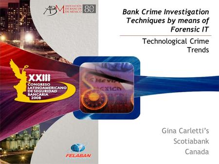 Bank Crime Investigation Techniques by means of Forensic IT