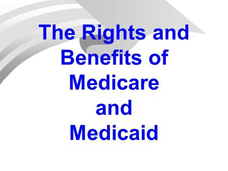 medicare and medicaid overview An article to help you learn the basics of medicaid visit to learn more about medicaid or find senior care using our nationwide directory of care options.