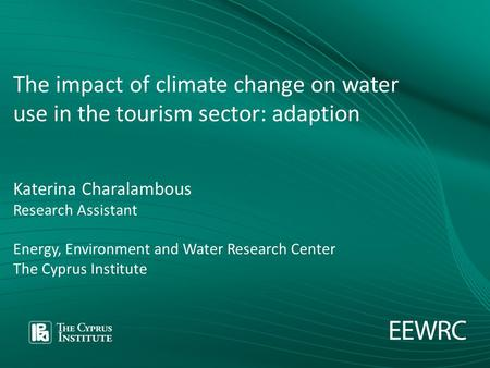 the impact of tourism on water consumption tourism essay Tourists and people consume more water this would be consequence impact on tourism economy and the quality of life water resources, tourism industry.