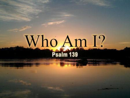 I am God's coworker (2 Corinthians 6:1) I am a minister of reconciliation (2 Corinthians 5:17-20) I am alive with Christ (Ephesians 2:5) I am raised.