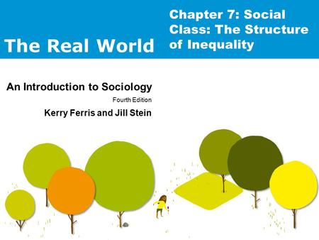 The Real World An Introduction to Sociology Fourth Edition Kerry Ferris and Jill Stein Chapter 7: Social Class: The Structure of Inequality.