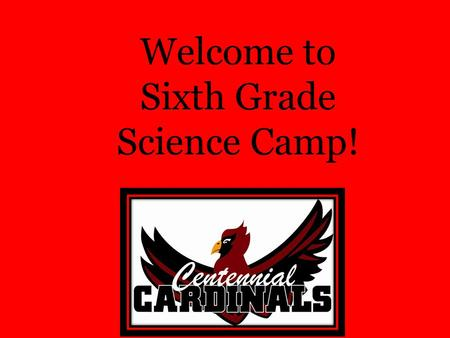 Welcome to Sixth Grade Science Camp!. Where is Camp? Chapel Rock, Prescott Arizona –Aspen Creek Outdoor School –Hands on, standards based science learning.