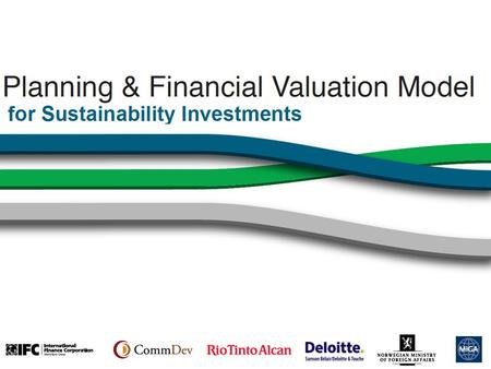 1. Challenge: Linking Sustainability & Financial Value Companies struggle to evaluate the financial value of their sustainability initiatives. In the.