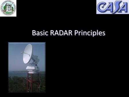 Basic RADAR Principles Prof. Sandra Cruz-Pol, Ph.D. Electrical and Computer Engineering UPRM.