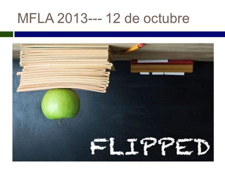 MFLA 2013--- 12 de octubre. Introduction Crystal  MEAD fellow 2013-14 (MFLA.
