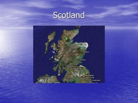 Scotland. Waste Water Treatment Cities – Glasgow and Edinburgh Cities – Glasgow and Edinburgh Coastal Area - Lossiemouth Coastal Area - Lossiemouth Rural.