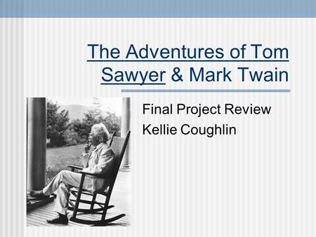 an analysis of the book report on the main character thomas sawyer in the adventures of tom sawyer b Main menu skip to primary content home about the adventures of tom sawyer, by mark twain posted on april 24, 2013 by samantha s the adventures of tom sawyer is a great book to read for anyone who loves besides going on adventures, tom also likes to tricks the children to do his.