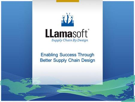 Enabling Success Through Better Supply Chain Design.