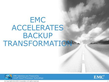 ACCELERATES BACKUP TRANSFORMATION
