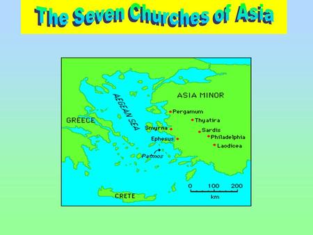 """The letters to the seven churches are a distinct unit of seven within the book of Revelation. Other sevenfold units are the seven seals, the seven trumpets."