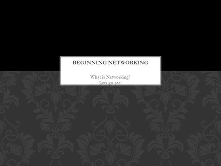 What is <strong>Networking</strong>? Lets go see! A <strong>network</strong> adapter interfaces a computer to a <strong>network</strong>. The term adapter was popularized originally by Ethernet add-in.