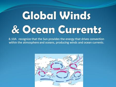 Global Winds & Ocean Currents