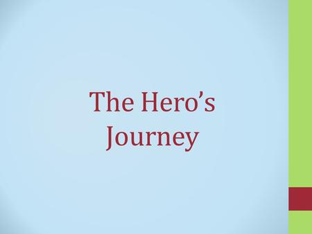 The Hero's Journey. Hero of Star Wars Luke Skywalker.