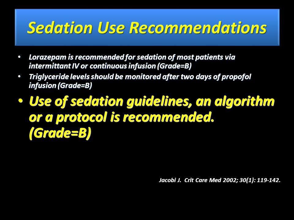 Sedation protocol production intensivist Critical care nurse