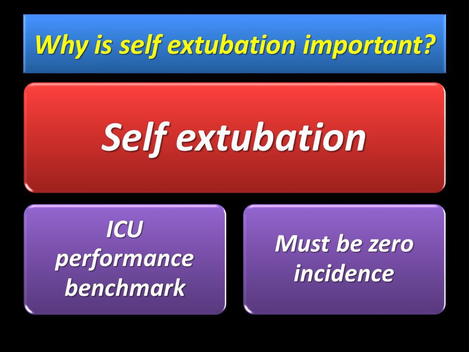 How could self extubation be reduced.