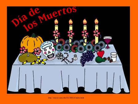 What is el Día de los muertos? Who celebrates it? Why is it celebrated? Why do we study this holiday? Preguntas.