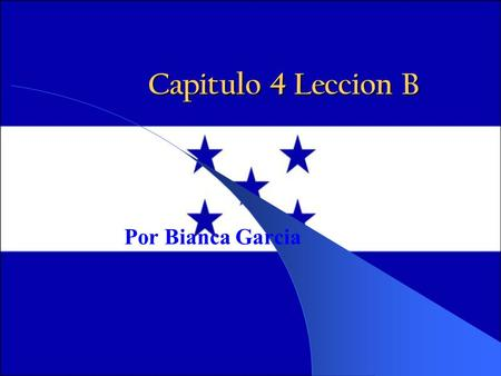 Capitulo 4 Leccion B Por Bianca Garcia. Special Endings isimo/a Adding an ending to an adjective or noun can have special significance in Spanish. When.
