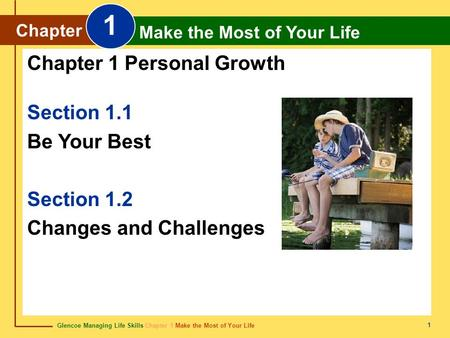 1 Chapter 1 Personal Growth Section 1.1 Be Your Best Section 1.2