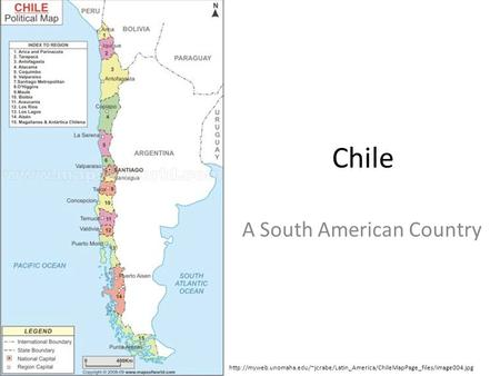 Chile A South American Country