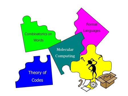 Molecular Computing Formal Languages Theory of Codes Combinatorics on Words.