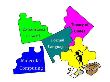 Formal Languages Theory of Codes Combinatorics on words Molecular Computing.