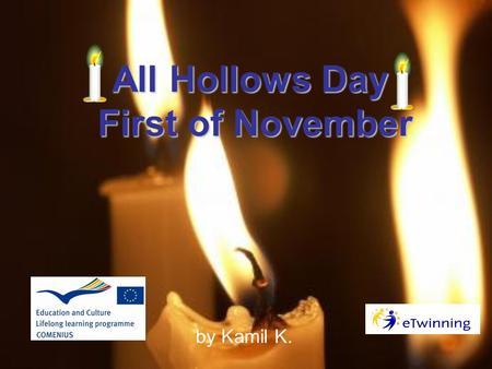 All Hollows Day First of November by Kamil K.. This is how our cemantaries look like on the 1st of November.