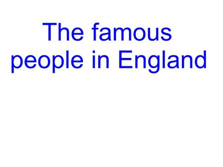 The famous people in England. Sir Henry Morgan ca. 1635 – 1688.