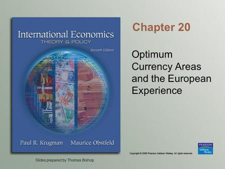 Slides prepared by Thomas Bishop Chapter 20 Optimum Currency Areas and the European Experience.