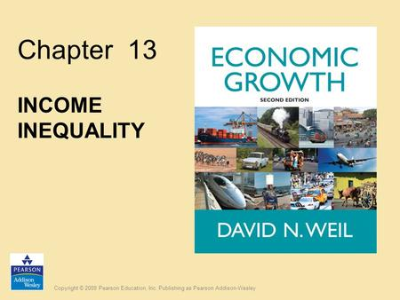 Chapter 13 INCOME INEQUALITY.
