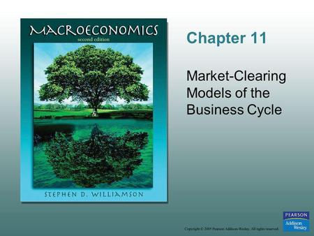 Chapter 11 Market-Clearing Models of the Business Cycle.