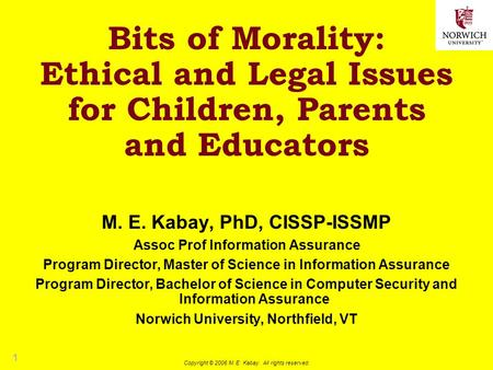 a discussion on the moral and ethical issues of computers The many ethical implications of emerging technologies from experts on topical issues in science the way we command and interact with computers.
