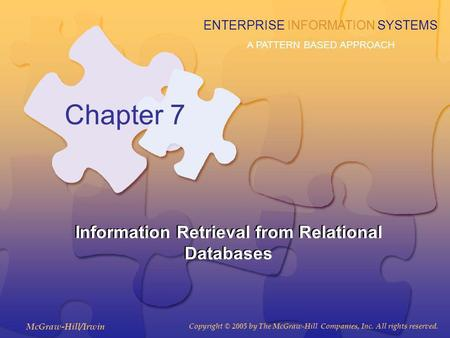 Information Retrieval from Relational Databases