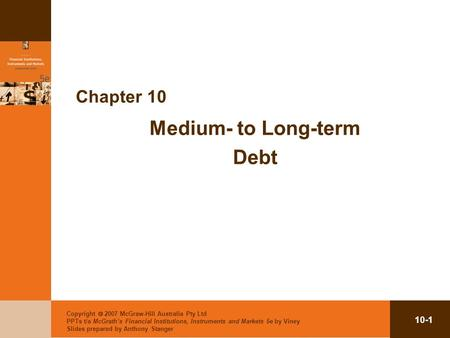 Medium- to Long-term Debt