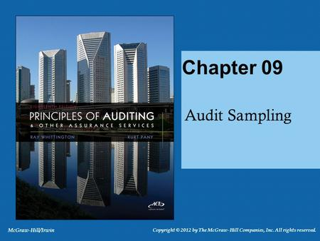 What is Audit Sampling? Applying a procedure to less than 100% of a population To estimate some characteristic of the population Qualitative Quantitative.