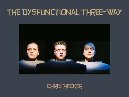 The Dysfunctional Three-Way Chris Hecker.