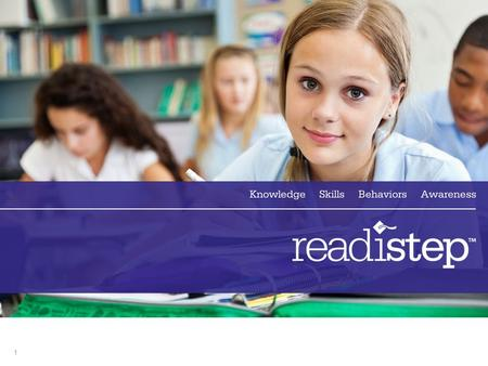 11. 2 ReadiStep Using Results: Fall 2012 3 Agenda ReadiStep Overview ReadiStep Score Scale Student Reports and Tools School and District Reports and.