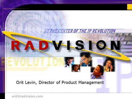 48 Aug. 2000 # 1 Orit Levin, Director of Product Management