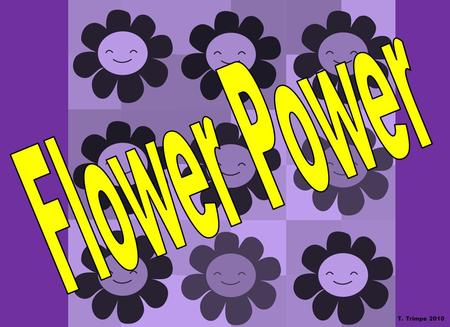 Flower Power T. Trimpe 2010.