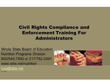 Civil Rights Compliance and Enforcement Training For Administrators
