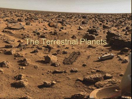 The Terrestrial Planets. Terrestrial Planet Surfaces How do they compare to one another?