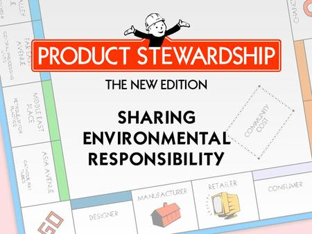 The Context for Product Stewardship Manufactured Globally.