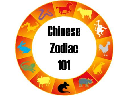 Chinese Zodiac 101. The Chinese Zodiac The Chinese Zodiac is a 12-year cycle. Each year of the 12-year cycle is named after one of the original 12 animals.